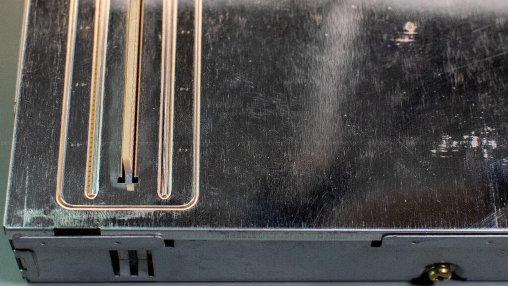 X-PCI FDD replica adapter in metal case