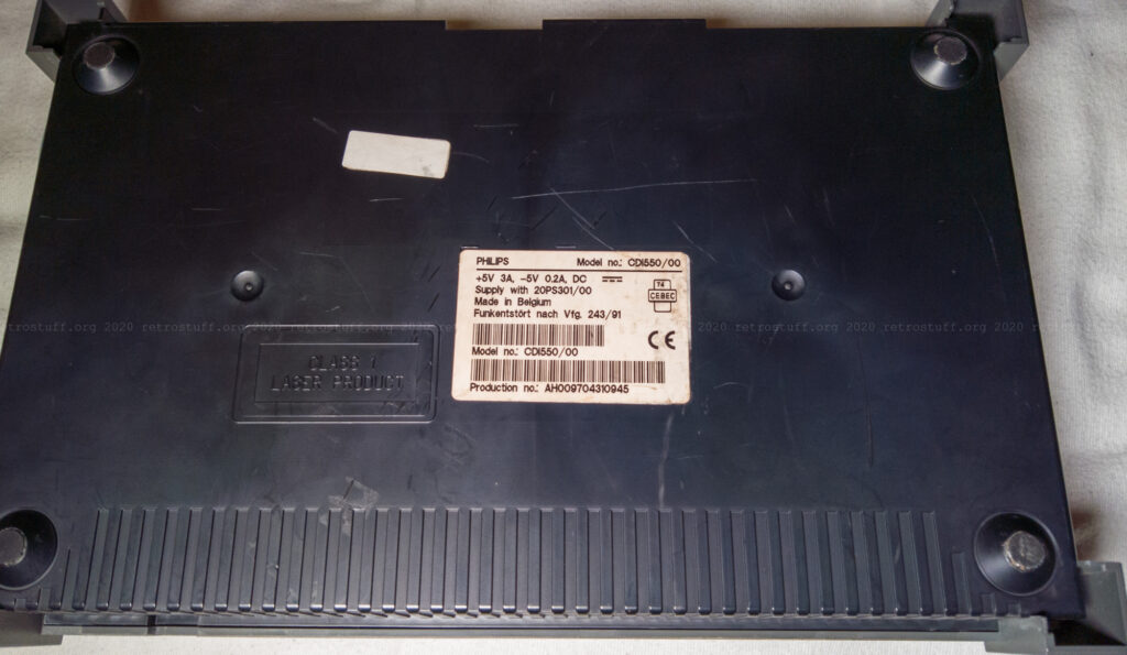 Philips CDI550/00 (bottom)