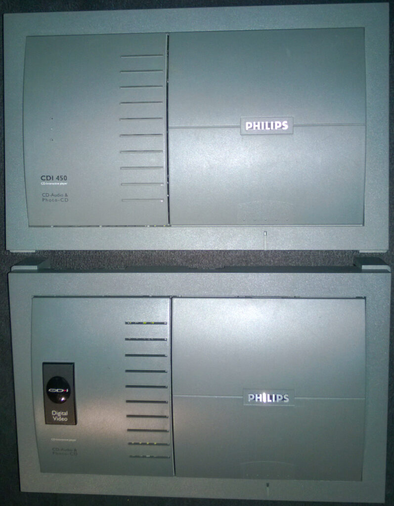 Philips CDI450/00 (top) and CDI550/00 (bottom)