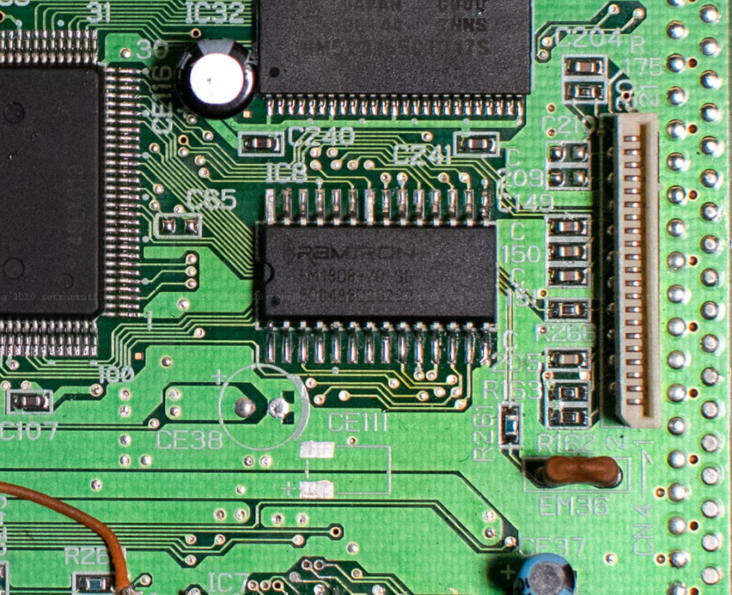 Sega Saturn FRAM chip (FM1808-70-SG)