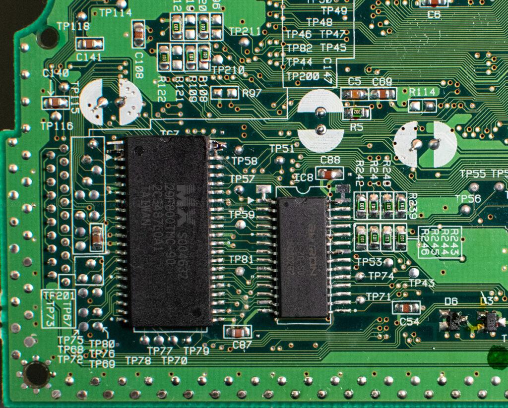 Sega Saturn region-free BIOS and FRAM chips