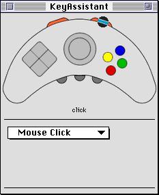 KeyAssistant - mouse click