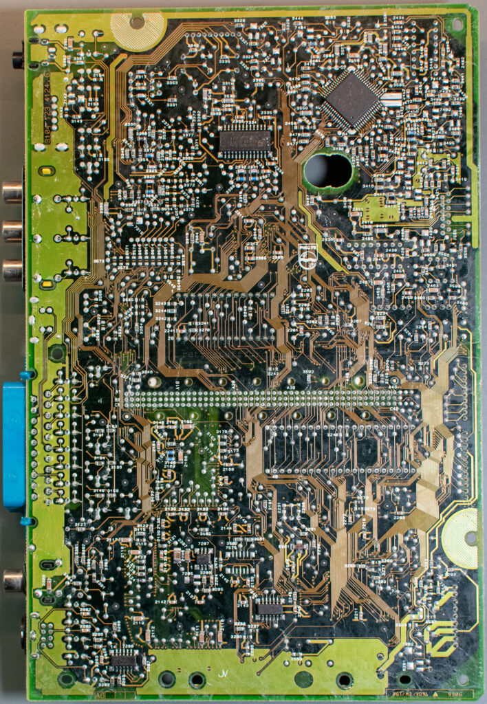 Philips CDI660 Mono IV mainboard (back)