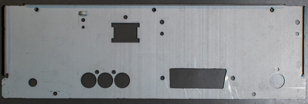 CDI490 back bezel with hole for SCART - inside
