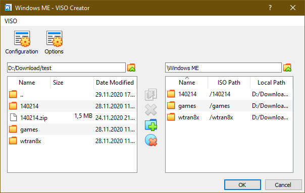 VirtualBox - VISO Creator