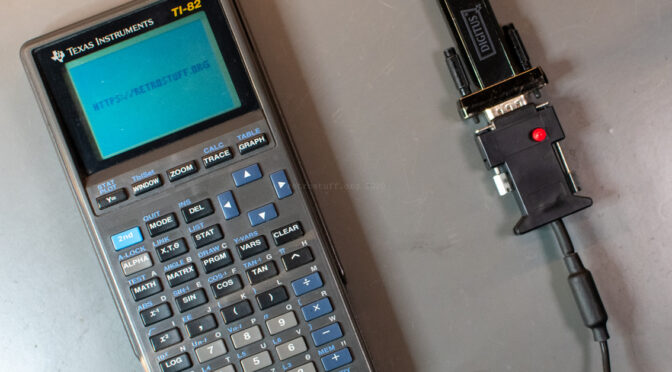 Texas Instruments TI-82 Serial Link on Windows 10