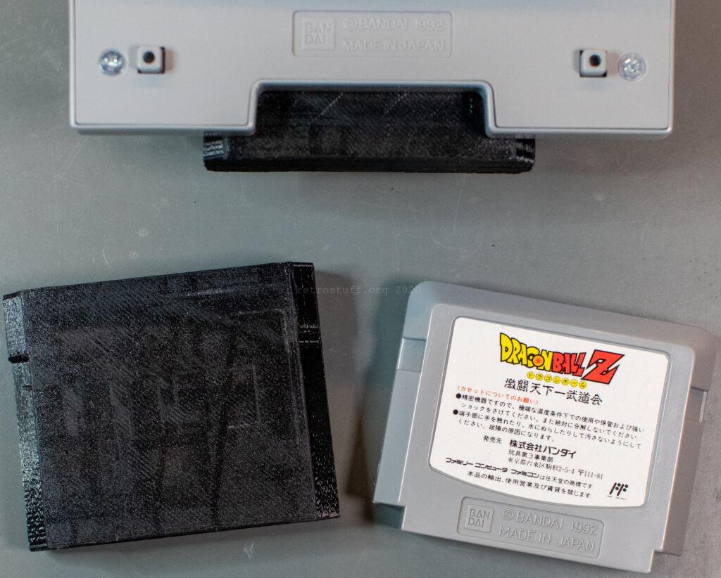 Bandai Datach Flash Cart - 3D printed case