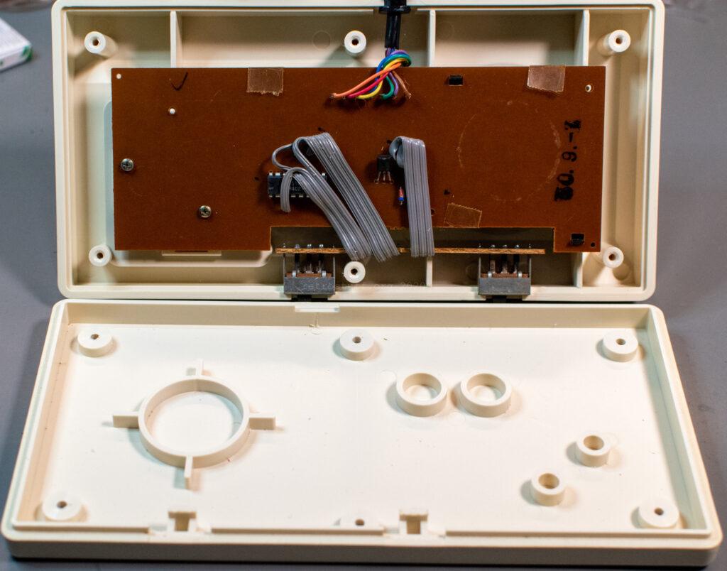 Hori Joystick-7 (HJ-7) for Famicom - inside