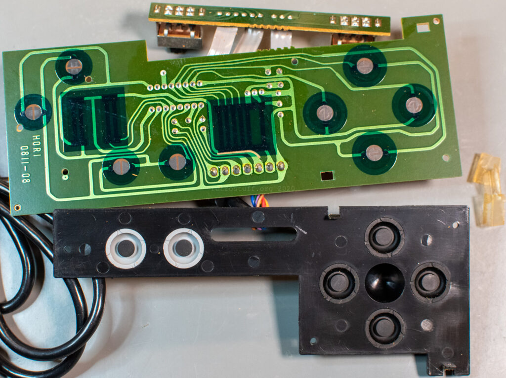 Hori Joystick-7 (HJ-7) for Famicom - PCB