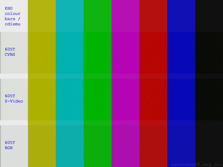 CD-i Service Shell - EBU colour bars (PAL)