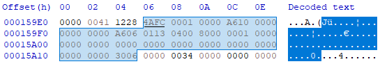 OS-9 module header: M$ID ($00)