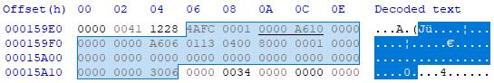 OS-9 module header: M$Size ($04)