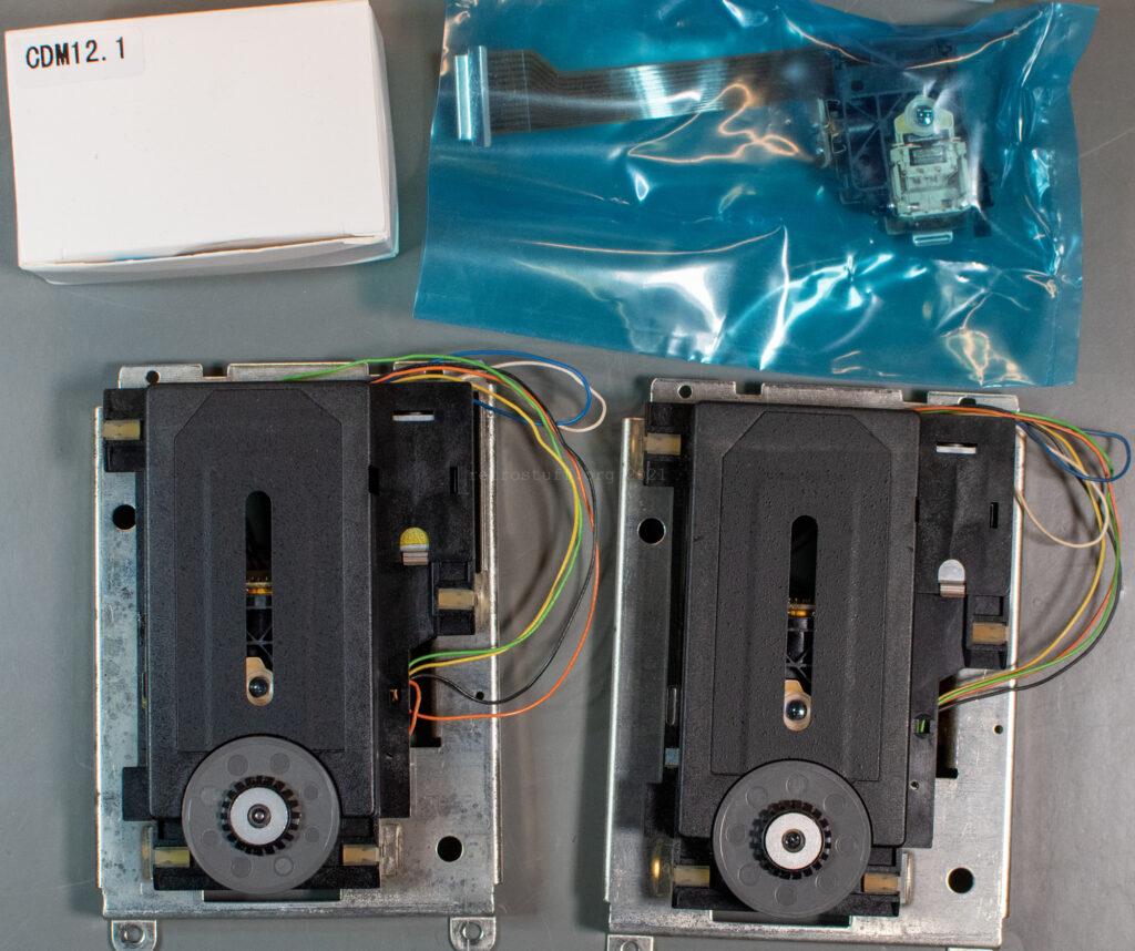 Philips CDM 12.1T laser sledge replacement