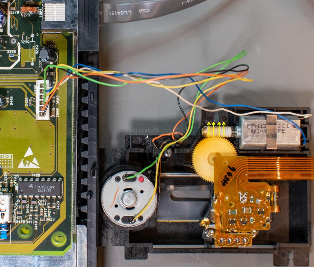 CDM 12.1T: Moving the laser sledge
