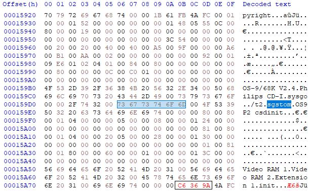 Module init in cdi450a14.rom