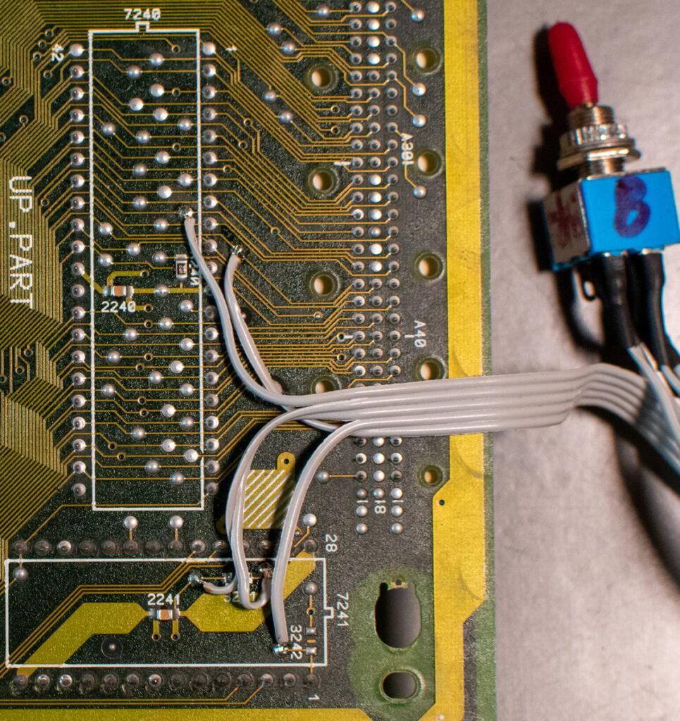 CDI450 8 / 32 KB NVRAM toggle switch
