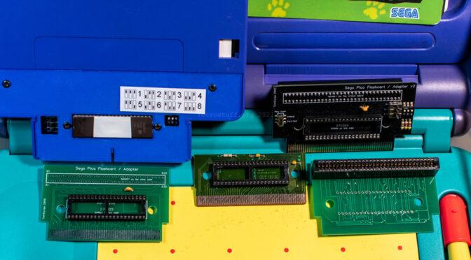 Sega Pico Flash Cart / Adapter v2